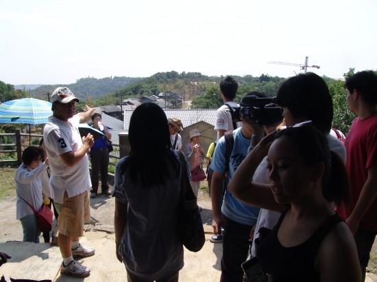 9月3日大家終於看到了電影「賽德克巴萊」的林口拍攝場景!!